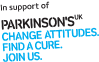 In support of Parkinsons